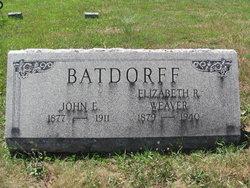 Elizabeth R. <i>Weaver</i> Batdorff