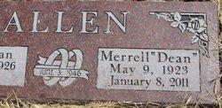 Merrell Dean Allen