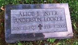 Alice L <i>Neer</i> Anderson Looker