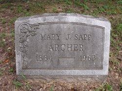 Mary Jane <i>Moore</i> Archer