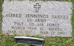 Rev Alfred Jennings Parker