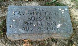 Cameron <i>Cahill</i> Boester