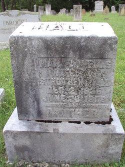 Mary A. <i>Wells</i> Hall