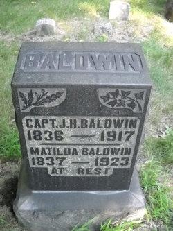 Matilda Charity <i>Keller</i> Baldwin