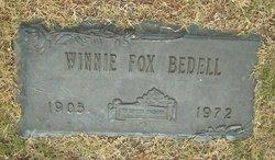Winnie <i>Fox</i> Bedell