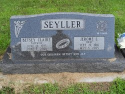 Betsey Claire Claire <i>Tazewell</i> Seyller