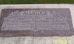 Nettie Katherine <i>Huntington</i> Allridge
