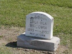 Lula Ola Lue <i>(Hall)</i> McCown