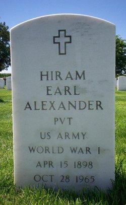 Hiram Earl Alexander