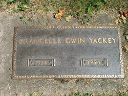 Patricia Francelle <i>Gwin</i> Yackey