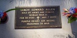 Maj Leroy Edward Allen