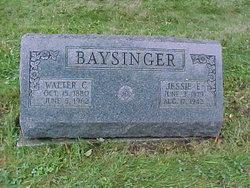 Jessie Elizabeth <i>Matson</i> Baysinger
