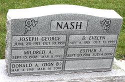 D Evelyn Nash