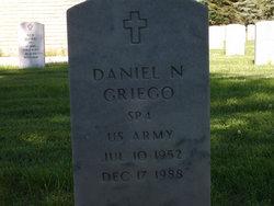Daniel N Griego