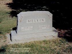 Charlotte Minnie Lottie <i>Meek</i> Melvin