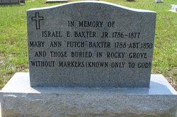 Mary Ann <i>Futch</i> Baxter