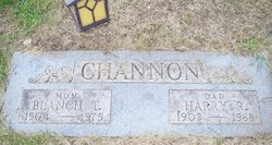 Blanch T <i>Clark</i> Channon
