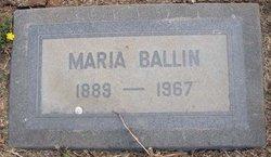 Maria Ballin