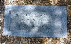 Jane <i>Cole</i> Arnold