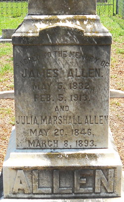 Julia <i>Marshall</i> Allen