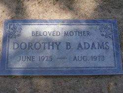 Dorothy B Adams