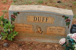 Dessie <i>Johns</i> Duff