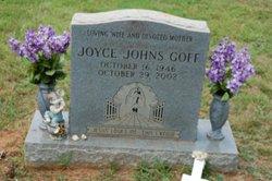 Joyce <i>Johns</i> Goff