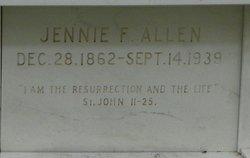 Jennie F Allen