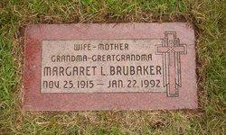 Margaret <i>Lowdon</i> Brubaker