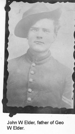 Pvt John W. Elder