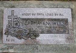 Bertha R. <i>Shaw</i> Knowles