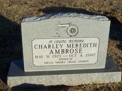Charley Meredith Ambrose