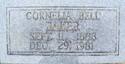 Cornelia Bell <i>Hillyard</i> Baker