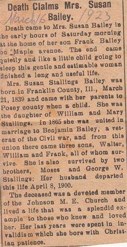 Susan <i>Stallings</i> Bailey