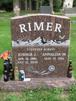 Sgt Joshua J. Rimer