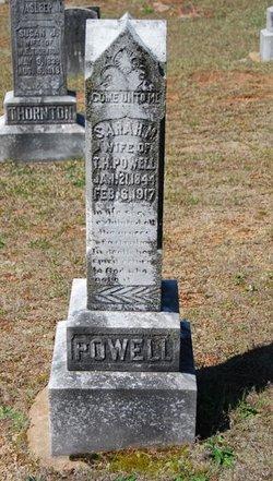 Sarah M. Powell