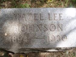 Hazel Lee <i>Roberts</i> Johnson