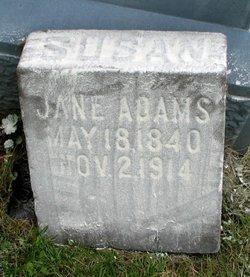 Susan Jane <i>Gray</i> Adams