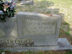 Lucy B. <i>Parrish</i> Armstrong