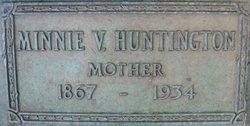 Minnie Violet <i>Oller</i> Huntington