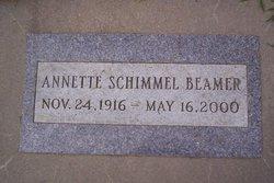 Annette E. <i>Schimmel</i> Beamer