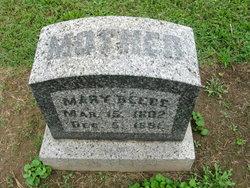 Mary <i>Breece</i> Beebe