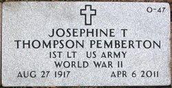 Josephine Sis <i>Anthony</i> Pemberton
