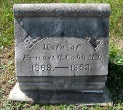 Ella M. <i>Pinkham</i> Cobb