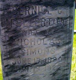 Bernice C <i>Fullerton</i> Simons