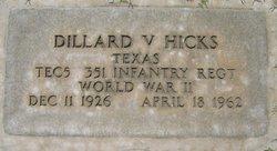Dillard Vernon Hicks, Jr