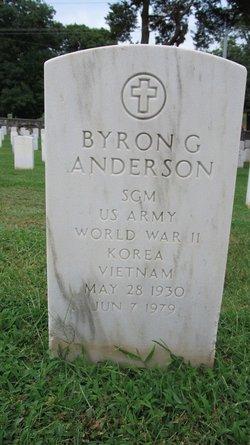 Byron G Anderson