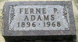 Ferne Persis <i>Mills</i> Adams