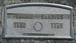 Frannie <i>Lowe</i> Sanders