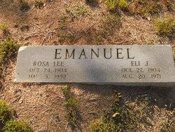 Rosa Lee <i>Taylor</i> Emanuel
